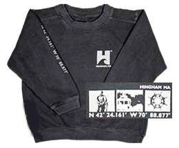 Youth crewneck sweatshirt by TownWear