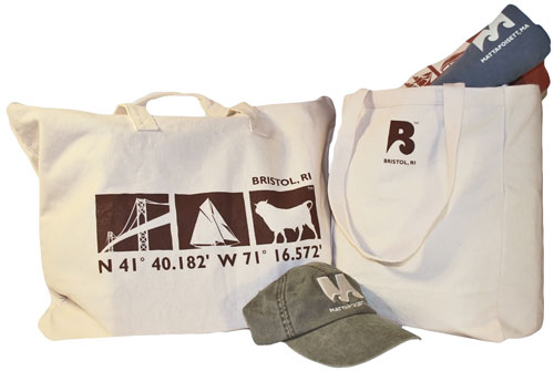 TownWear Totes, showing back logo